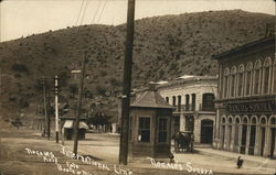 International Line Nogales/Sonora 1914
