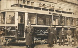 Street Car Strike Police 1906