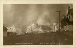 Blue Lake Fire December 5, 1911
