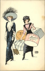 Women with Hat Boxes Series 47