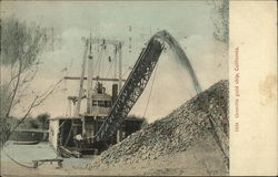 Gold Ship Mining Dredge