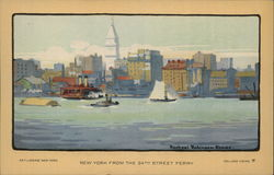 Set of 12 Art Lover's New York Series Postcard