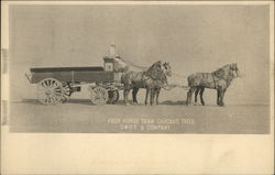 Complete Set 15 - Swift Company Advertising Postcard