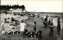 View of The Popular Hotel Capitola