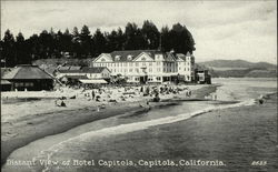Distant View of Hotel Capitola