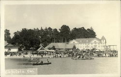 View of Boats, Beach, Hotel