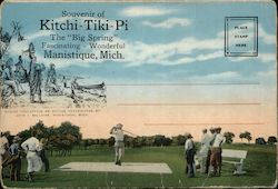 "Kitchi-Tiki-Pi ""The Big Spring"" Souvenir Folder"