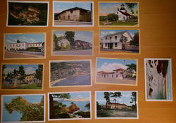 Large Wholesale Lot 1300 Monterey Area Postcards