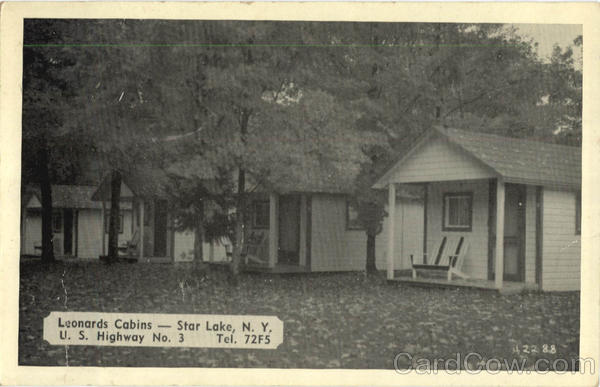 Leonards Cabins Star Lake New York