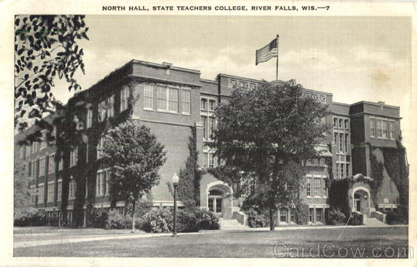 North Hall State Teachers College River Falls Wisconsin