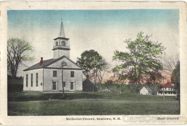Methodist Church Sandown New Hampshire