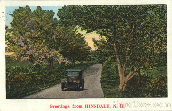 Greetings From Hinsdale New Hampshire