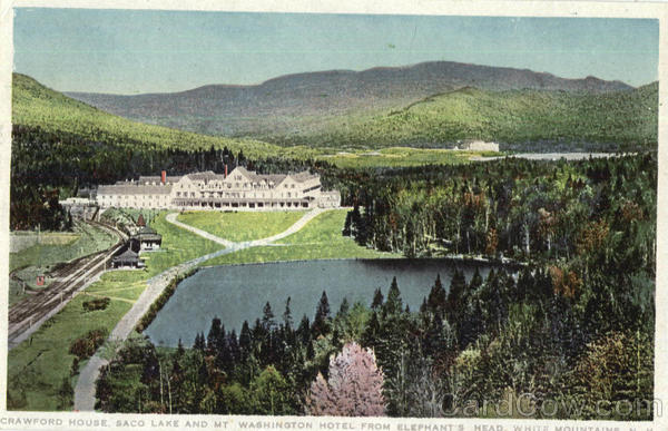 Crawford House White Mountains New Hampshire