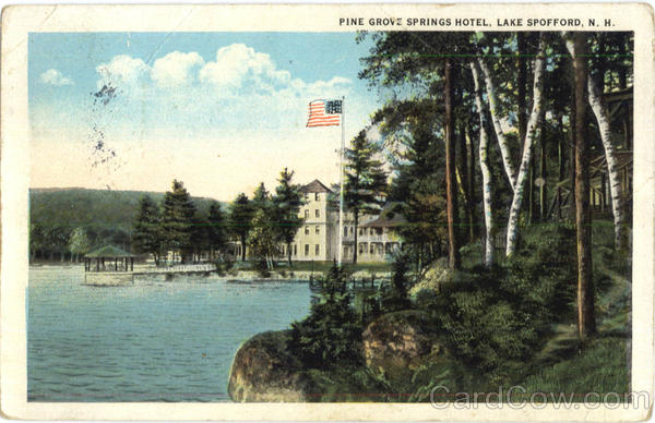 Pine Grove Springs Hotel Spofford New Hampshire