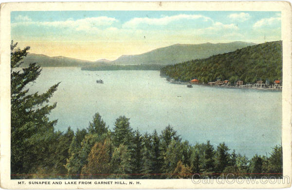 Mt. Sunapee And Lake From Garnet Hill New Hampshire
