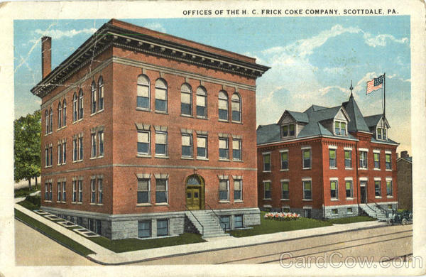 Offices Of The H. C. Frick Coke Company Scotdale Pennsylvania