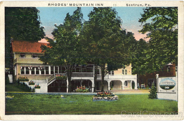 Rhodes Mountain Inn Scotrun Pennsylvania