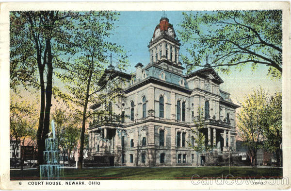 Court House Newark Ohio