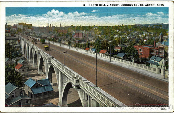 North Hill Viaduct Akron Ohio