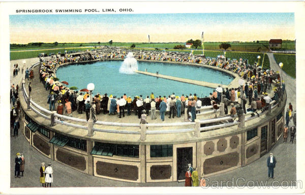 Springbrook Swimming Pool Lima Ohio