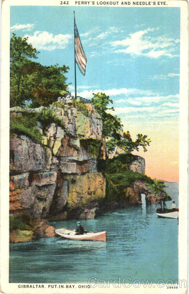 Perry's Lookout And Needle's Eye Gibraltar Ohio