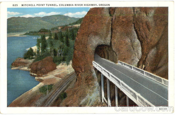 Mitchell Point Tunnel Columbia River Highway Oregon