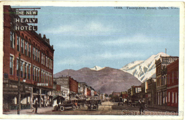 Twenty Fifth Street Ogden Utah