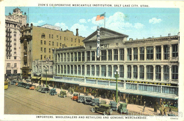 Zion's Co-Operative Mercantile Institution Salt Lake City Utah