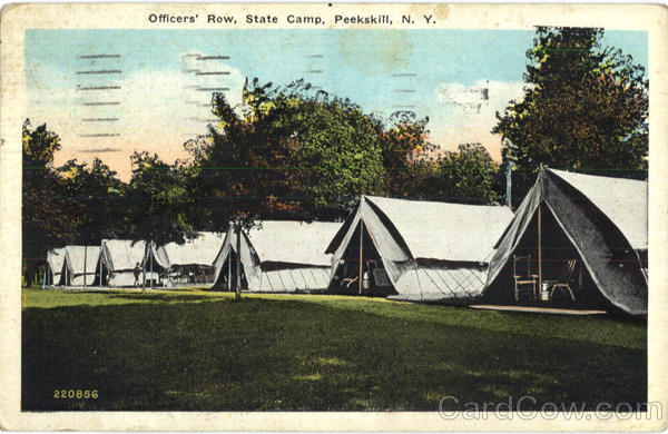 Officers Row State Camp Peekskill New York