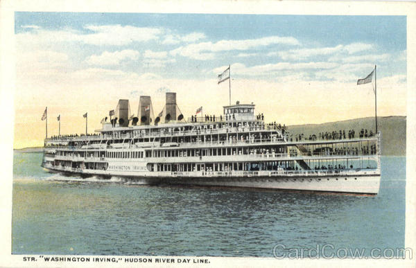 Steamer Washington Irving Steamers