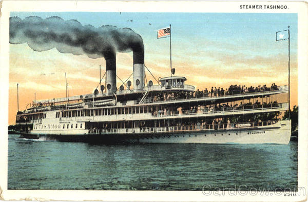 Steamer Tashmoo Detroit Michigan