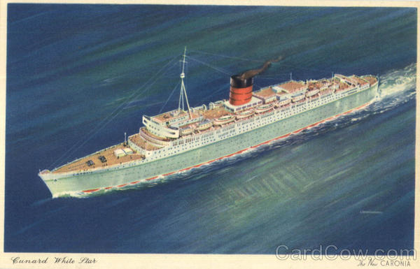 Cunard White Star Caronia Boats, Ships