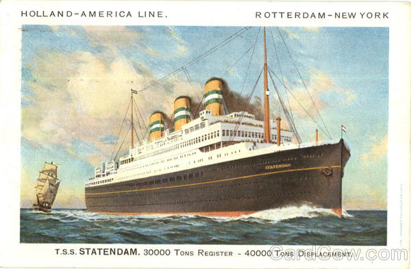 Holland America Line Rotterdam New York