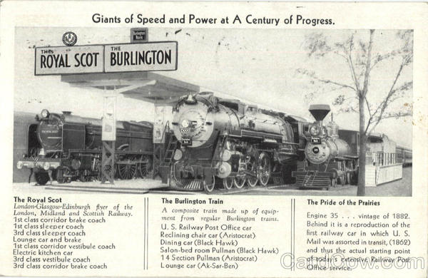 Giants Of Speed And Power At A Century Of Progress