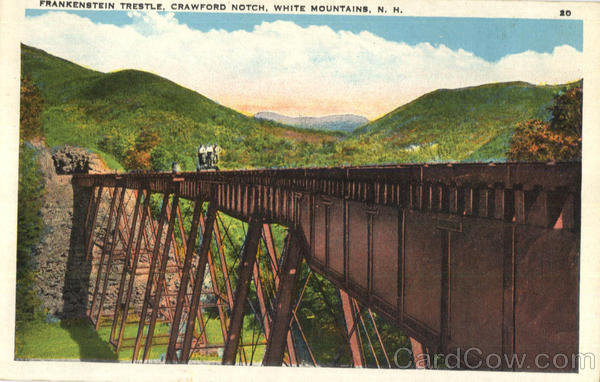 Frankenstein Trestle, Crawford Notch White Mountains New Hampshire
