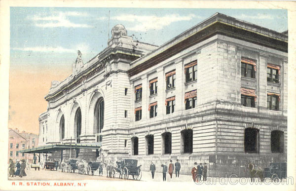 R. R. Station Albany New York