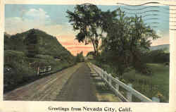 Greetings From Nevada City