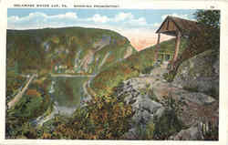 Showing Promontory Postcard