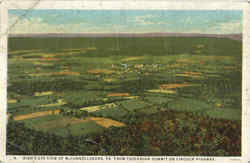 Birds Eye View Of McConnell burg Postcard