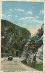 Coming Through The Gorge At Delaware Water Gap