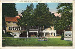 Rhodes Mountain Inn Postcard