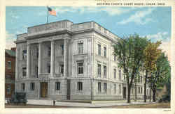 Hocking Country Court House Postcard