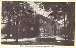 Brice Hall, Miami University