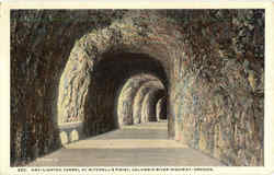 Day Lighted Tunnel At Mitchell's Point