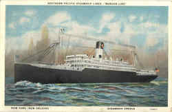 Southern Pacific Steamship Lines Morgan Line