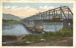Market Street Bridge And Susquehanna River