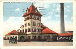 Boston & Maine Railroad Station