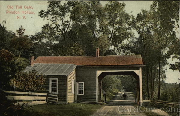 Old Toll Gate Preston Hollow New York