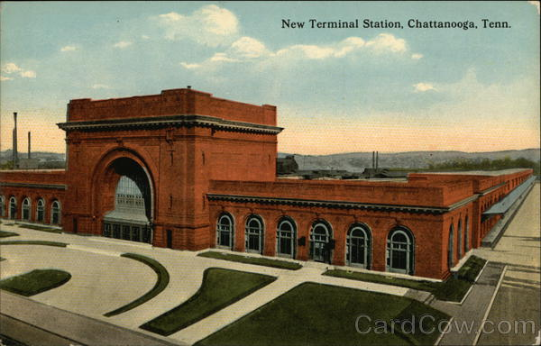New Terminal Station Chattanooga Tennessee