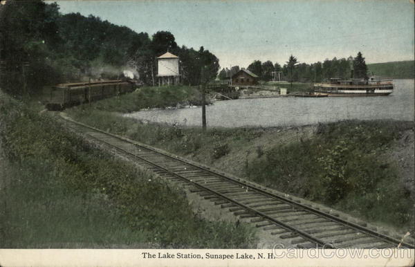 The Lake Station Lake Sunapee New Hampshire